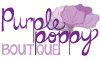 Purple Poppy Boutique – Johnston Logo